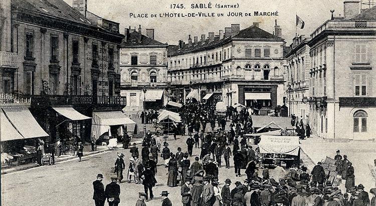 Histoire de la Place - Sablé-sur-Sarthe